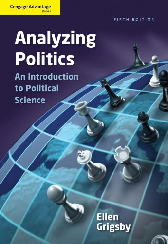 Analyzing Politics  5th 2012 edition cover