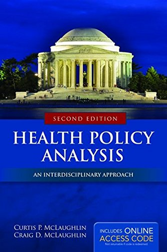 Health Policy Analysis  2nd 2015 edition cover