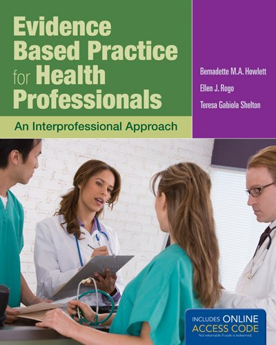 Evidence Based Practice for Health Professionals   2014 edition cover