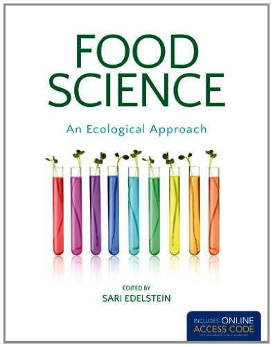 Food Science: an Ecological Approach 1st 2014 edition cover