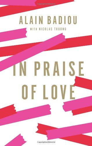In Praise of Love   2012 edition cover