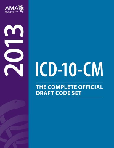 ICD-10-CM Draft Code Set 2013:   2012 edition cover