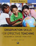 Observational Skills for Effective Teaching Research-Based Practice 7th 2015 (Revised) edition cover