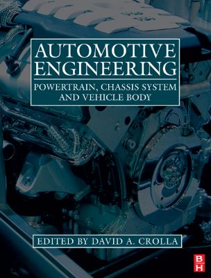 Automotive Engineering Powertrain, Chassis System and Vehicle Body  2009 edition cover