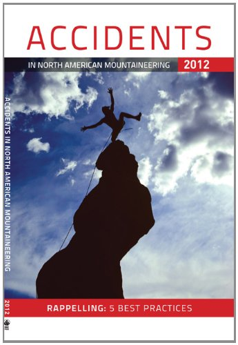 Accidents in North American Mountaineering 2012   2012 edition cover