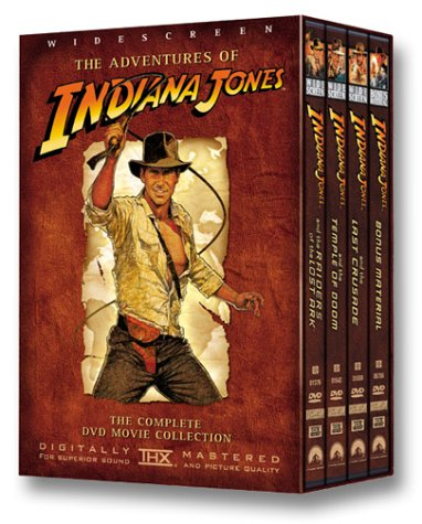 The Adventures of Indiana Jones (Raiders of the Lost Ark / The Temple of Doom / The Last Crusade / Bonus Material) System.Collections.Generic.List`1[System.String] artwork