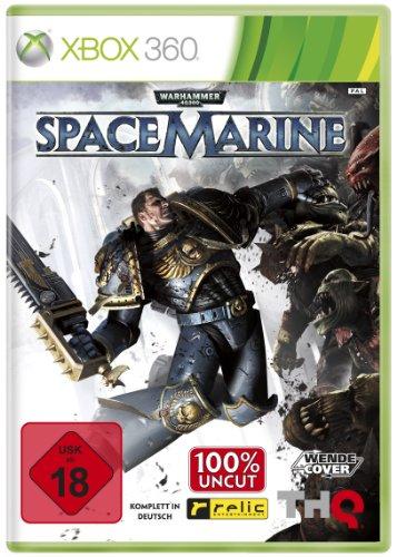 Warhammer 40.000: Space Marine Xbox 360 artwork