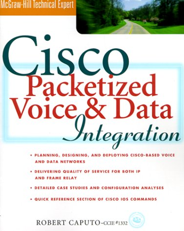 Cisco Packetized Voice and Data Integration   1999 9780071347778 Front Cover