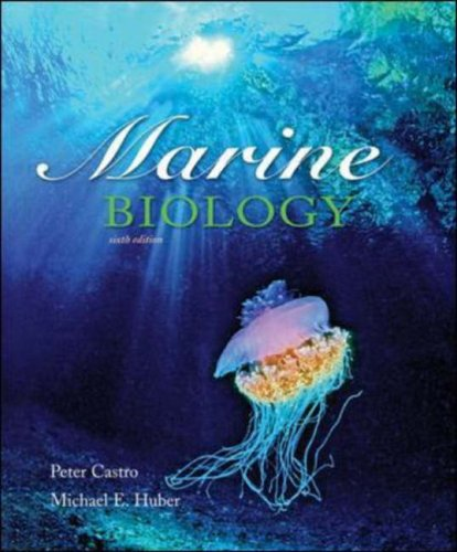 Marine Biology  6th 2007 (Revised) edition cover