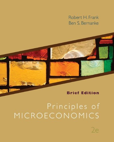 Principles of Microeconomics, Brief Edition  2nd 2011 edition cover