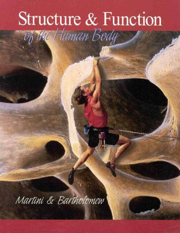 Structure and Function of the Human Body   1999 edition cover