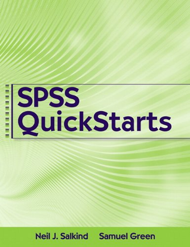 SPSS QuickStarts   2011 edition cover