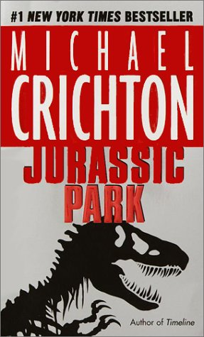 Jurassic Park   1990 edition cover