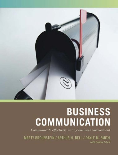 Business Communication Communicate Effectively in Any Business Environment  2007 edition cover