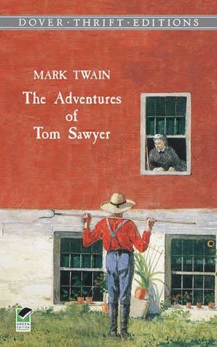 Adventures of Tom Sawyer   1998 9780486400778 Front Cover