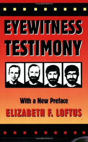 Eyewitness Testimony  2nd 1996 edition cover