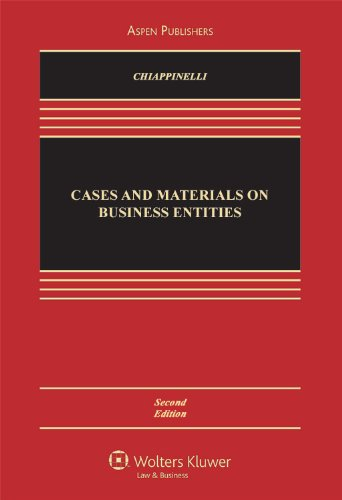 Cases and Materials on Business Entities  2nd 2010 (Revised) edition cover