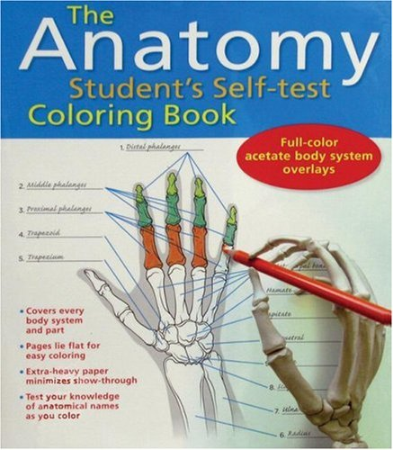 Anatomy Student's Self-Test Coloring Book   2007 edition cover