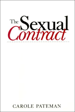 Sexual Contract   1988 edition cover