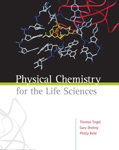 Physical Chemistry for the Life Sciences   2008 edition cover