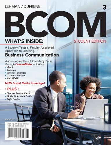 BCOM  3rd 2012 edition cover