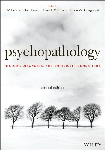 Psychopathology History, Diagnosis, and Empirical Foundations 2nd 2013 edition cover