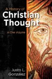 History of Christian Thought In One Volume  2014 edition cover