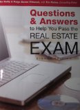 Questions and Answers to Help You Pass the Real Estate Exam  N/A edition cover