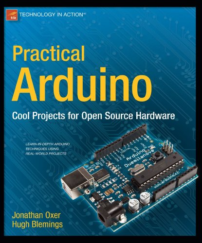 Practical Arduino Cool Projects for Open Source Hardware  2009 edition cover