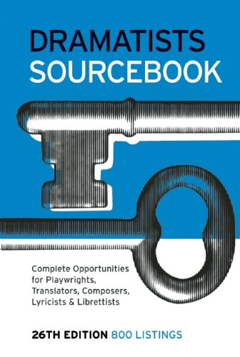 Dramatists Sourcebook  26th 2010 edition cover