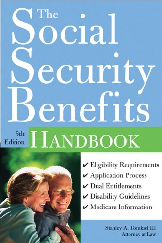 Social Security Benefits Handbook  5th 2007 (Revised) edition cover