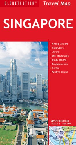 Globetrotter Singapore Travel Map:  2012 edition cover