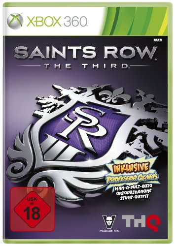 Saint's Row: The Third Xbox 360 artwork