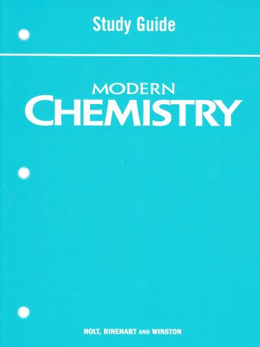 Modern Chemistry : Section Review 6th 9780030367779 Front Cover