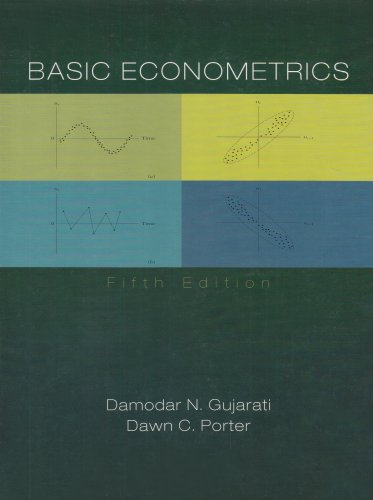 Basic Econometrics  5th 2009 9780073375779 Front Cover
