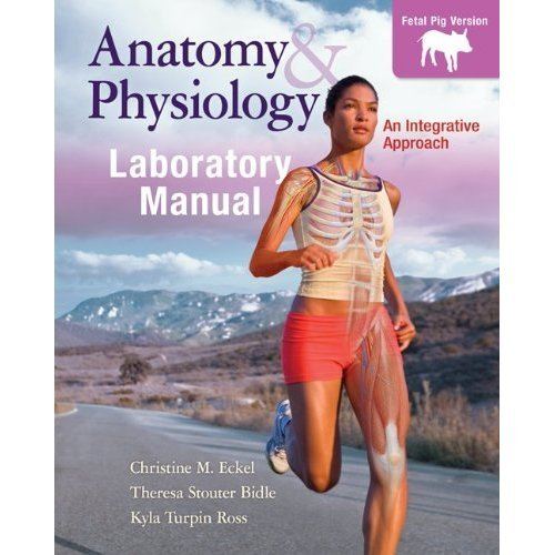 Anatomy & Physiology: Fetal Pig Version  2012 edition cover