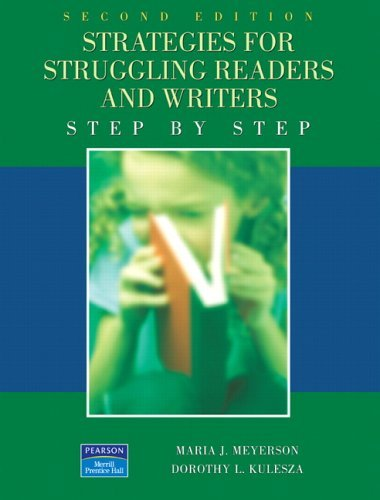 Strategies for Struggling Readers and Writers  2nd 2006 (Revised) edition cover