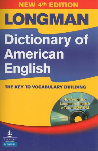 Longman Dictionary of American English, 4th Edition (paperback with CD-ROM)  4th 2008 edition cover