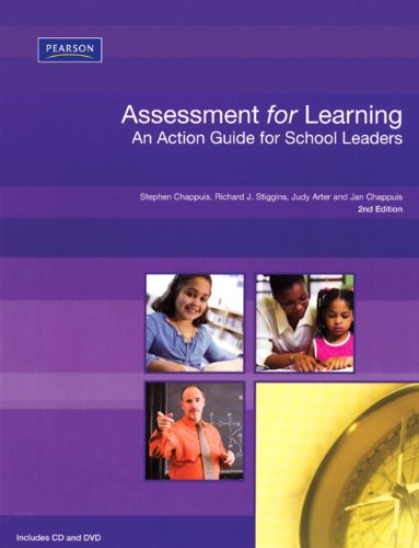 Assessment for Learning An Action Guide for School Leaders 2nd 2006 9780132548779 Front Cover