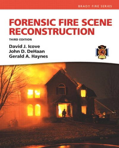 Forensic Fire Scene Reconstruction  3rd 2013 edition cover
