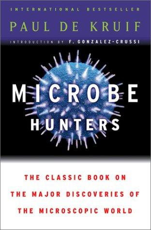 Microbe Hunters   1954 edition cover