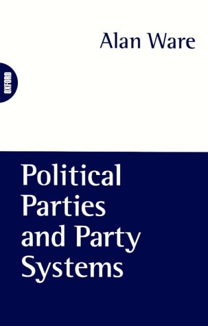 Political Parties and Party Systems   1996 edition cover
