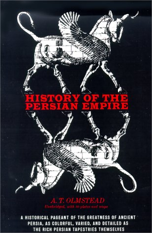 History of the Persian Empire  Reprint  edition cover
