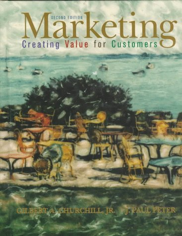 Creating Value for Customers 2nd 1998 9780256228779 Front Cover