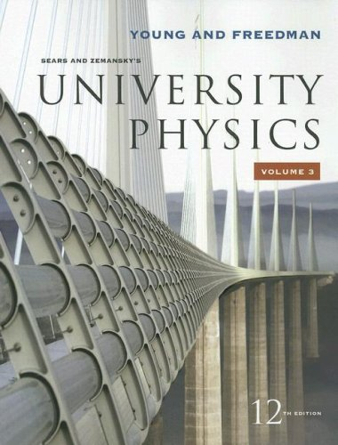 Sears and Kemansky's University Physics  12th 2008 edition cover