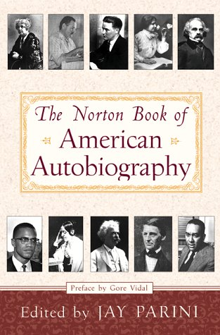 Norton Book of American Autobiography  N/A edition cover