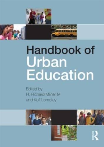 Handbook of Urban Education   2014 edition cover