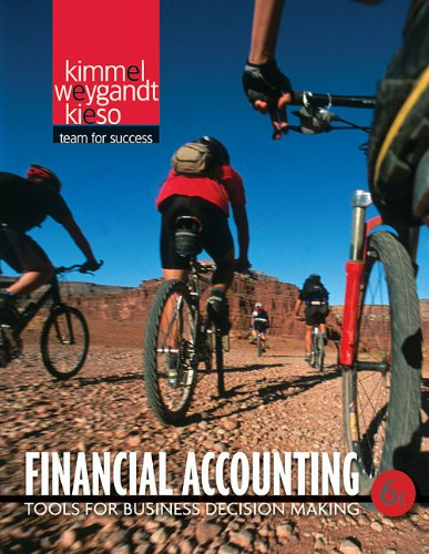 Financial Accounting Tools for Business Decision Making 6th 2011 edition cover