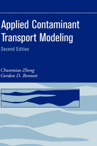 Applied Contaminant Transport Modeling  2nd 2002 (Revised) 9780471384779 Front Cover