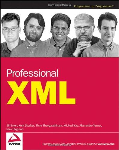 Professional XML   2007 edition cover